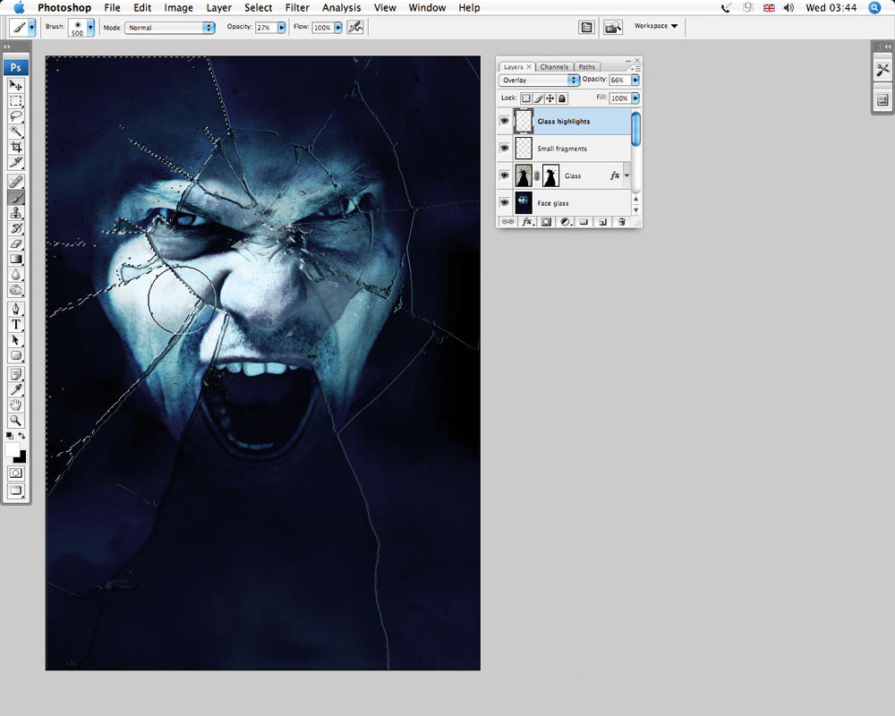 How to Create a Surreal Broken Glass Effect in Adobe Photoshop