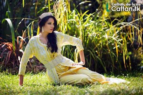 Caftan-haute-couture-jaune-2014