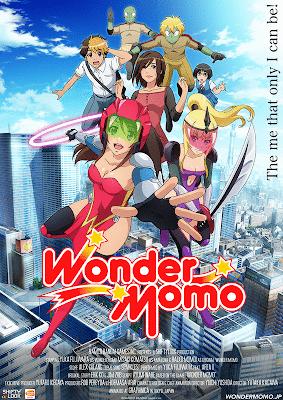 Wonder Momo Anime Anuncio pv estreno febrero 2014