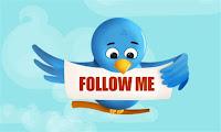 Cara Membuat Tombol Follow Me Twitter di Blog