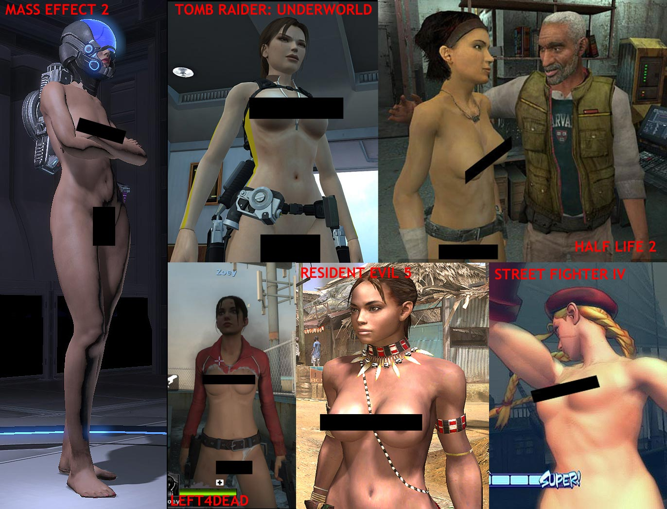 Mass effect1 nude mod erotic videos