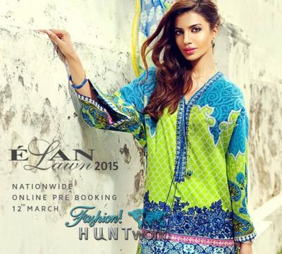 ELAN Lawn By Khadijah Shah Spring-Summer 2015 - Campaign / Look Book