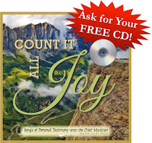Count It All Joy! FREE CD Offer!