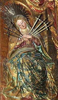 Resultado de imagem para nossa senhora das dores barroco