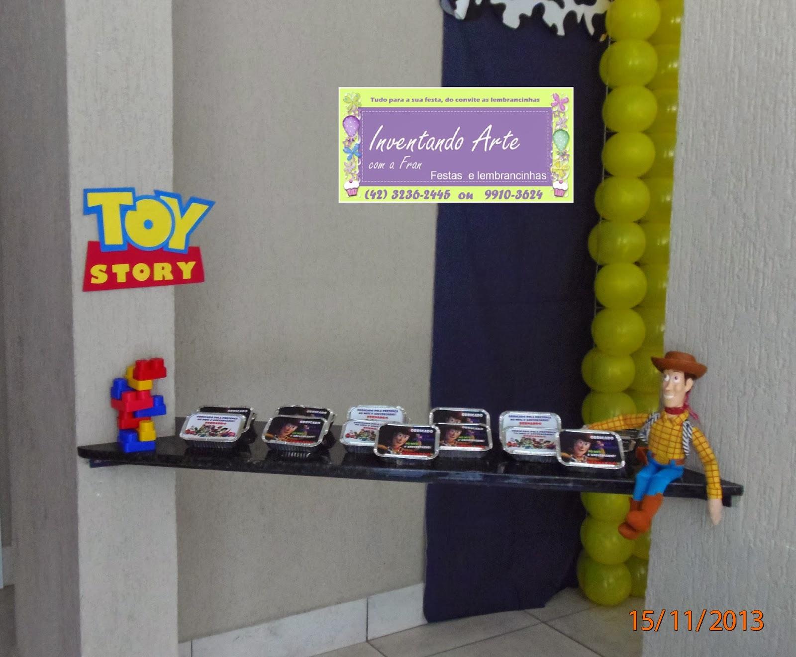 festa decoração Toy Story Woody Buzz Lightyear