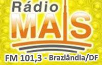 Rádio Mais FM 101,3 de Brazlândia DF ao Vivo