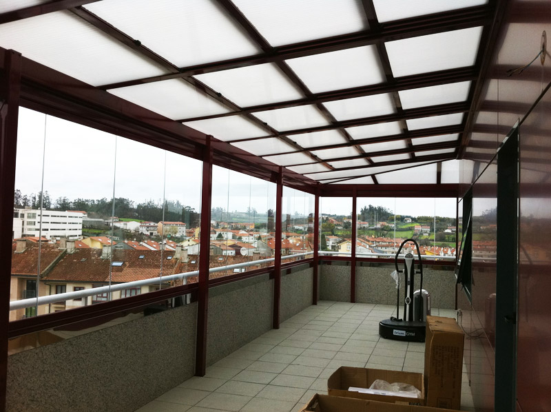 Techos fijos cerramientos en murcia 674 847 297 alumavel cortinas de cristal toldos - Cubiertas de aluminio para terrazas ...