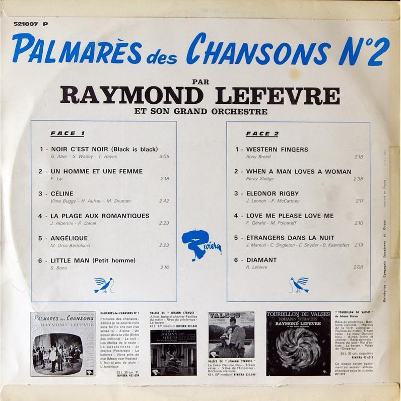 Palmarès Des Chansons N°2