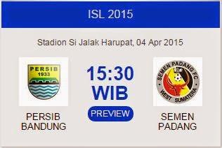 Persib Bandung vs Semen Padang Buka ISL 2015