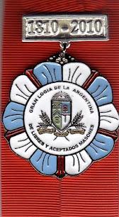 Distinción de la Gran Logia de la Arg de Libres y Aceptados Masones por la presentación del libro