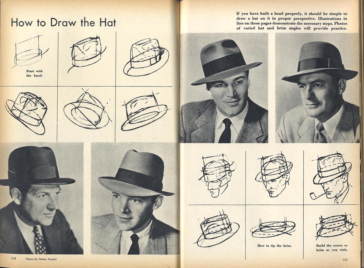 Learn How to Draw a Trilby Hat