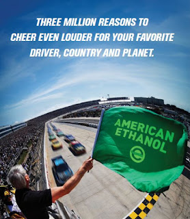 NASCAR American Ethanol 3 Million Miles E15
