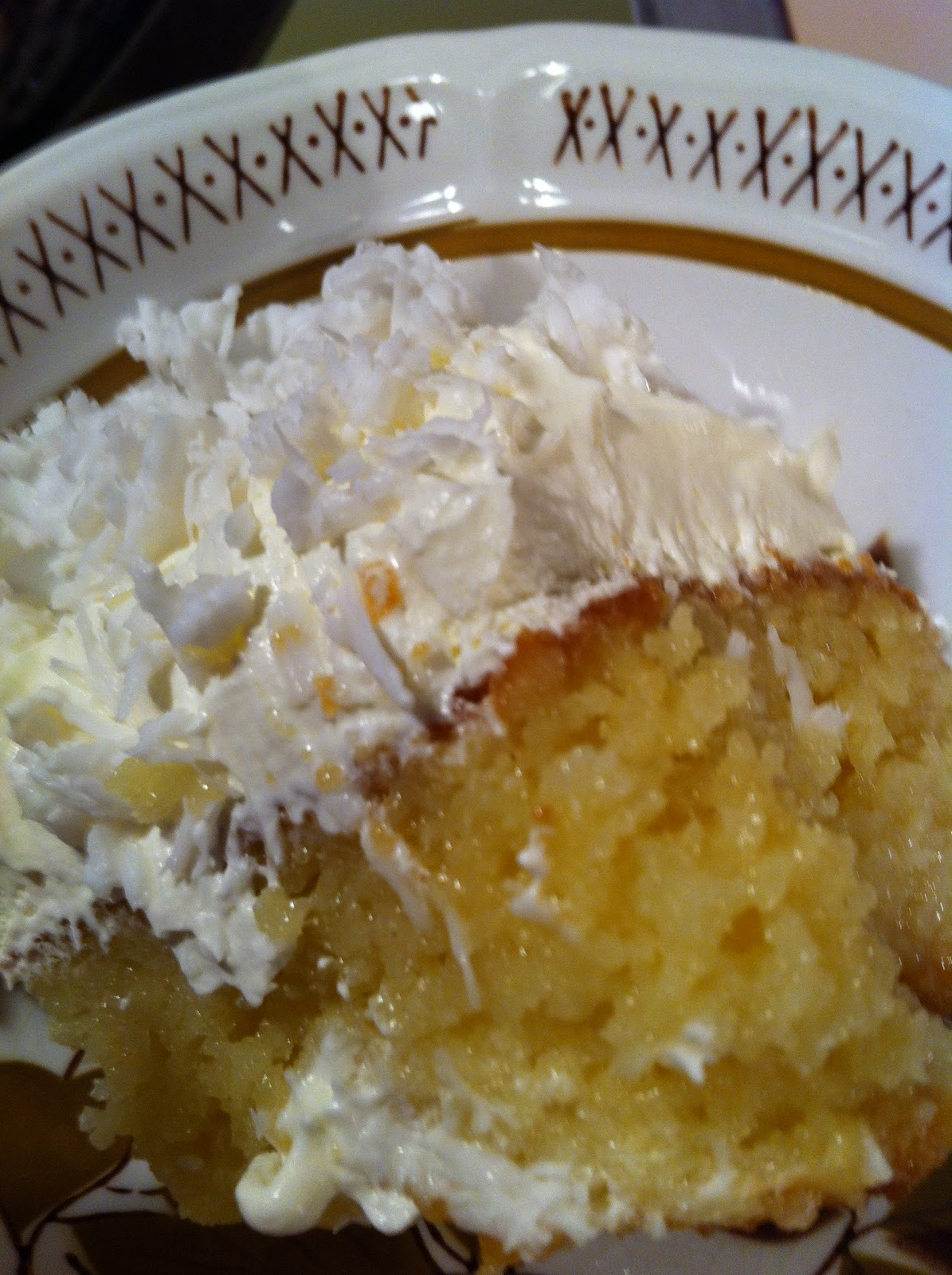 Nanas Moist Coconut Cake