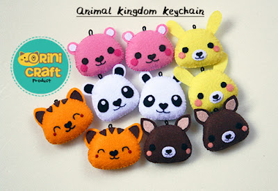 Animal Kingdom Keychain