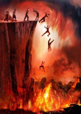 gambaran neraka mengerikan