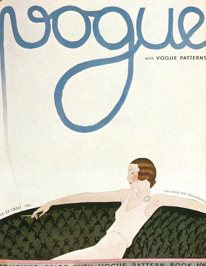 pinkpagodastudio: Vintage Vogue