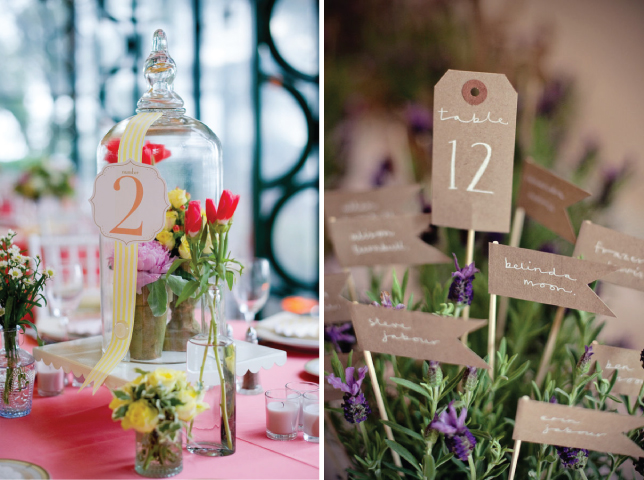 table numbers in wine bottles are the latest trend
