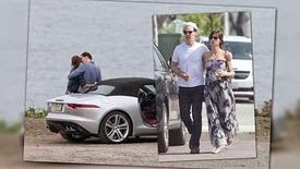 Benedict Cumberbatch et Sophie Hunter partagent un moment romantique en Californie