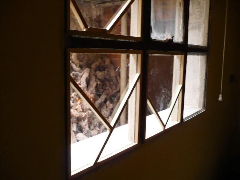 Como forrar una ventana de hormigon, how made
