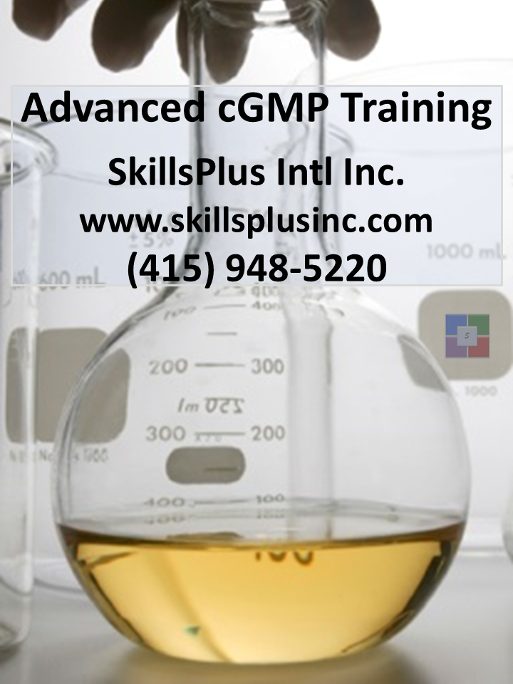 Advanced cGMP Training Courses