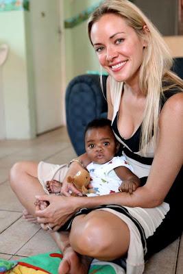 Kristanna Loken ,Little Angels, Volunteering,Jan 2012, American  actress