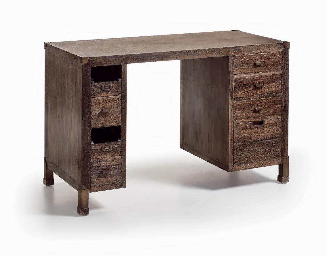 Blog de mbar muebles muebles - Mesa escritorio colonial ...