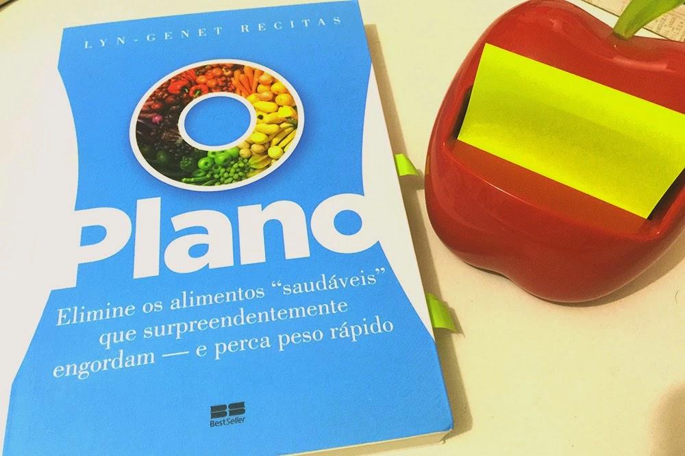 """ O Plano, de Lyn-Genet"" livro de dietas e saúde alimentar"