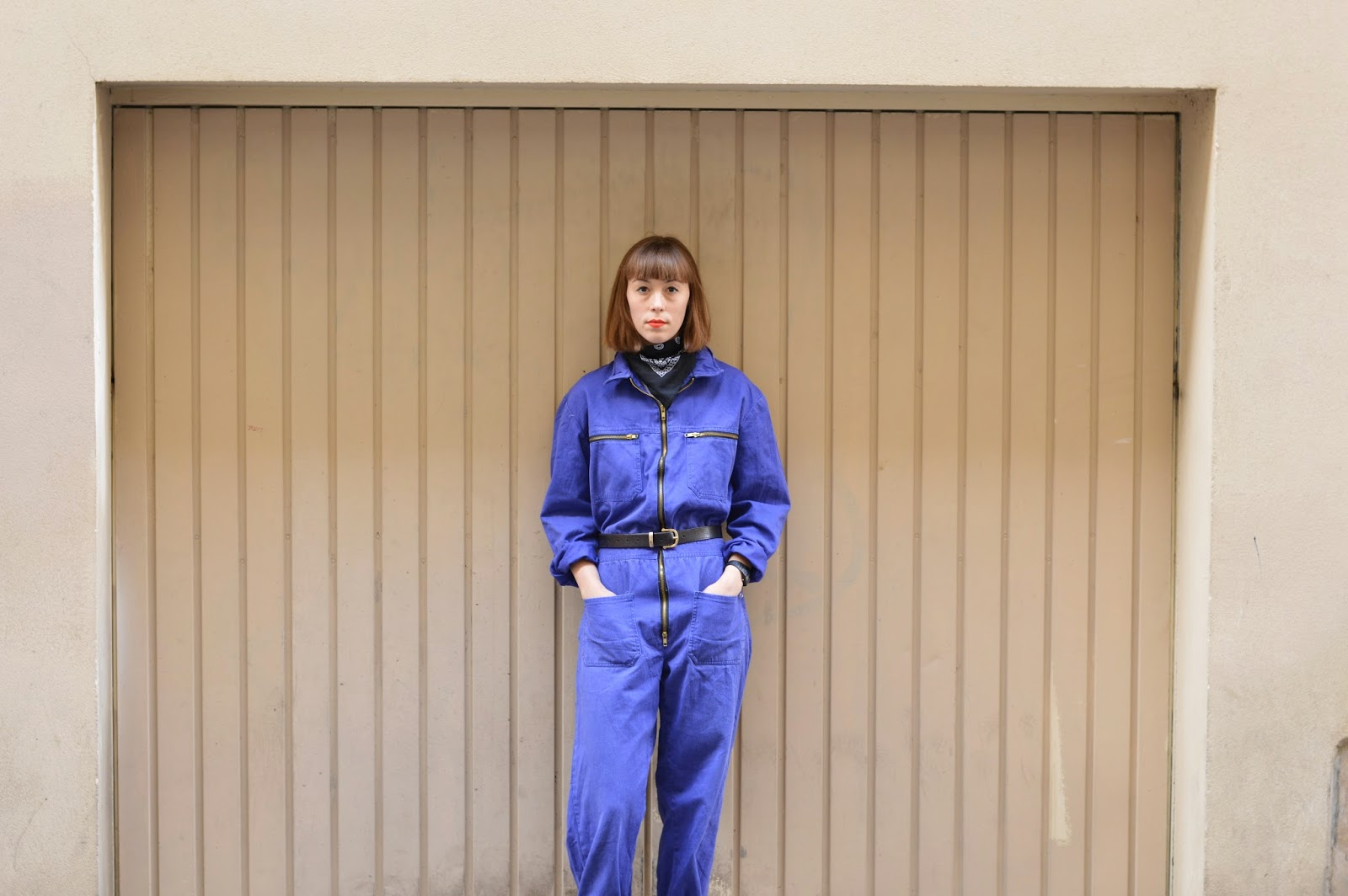 How to style work overalls fashion ss15
