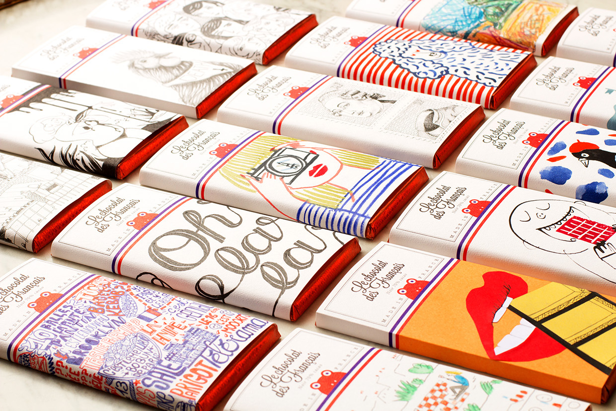 Le chocolat des fran ais on packaging of the world for Design francais