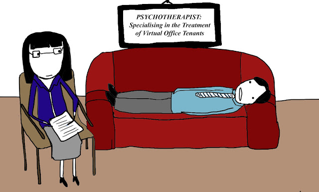 Virtual office services have led to the development of a new psychiatric specialty - at the Executive Office Center in Queens NY