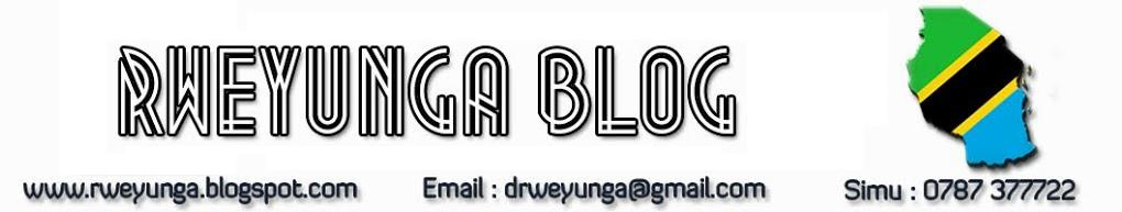 Rweyunga Blog