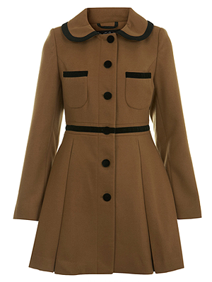 Brown Miss Selfridge Coat