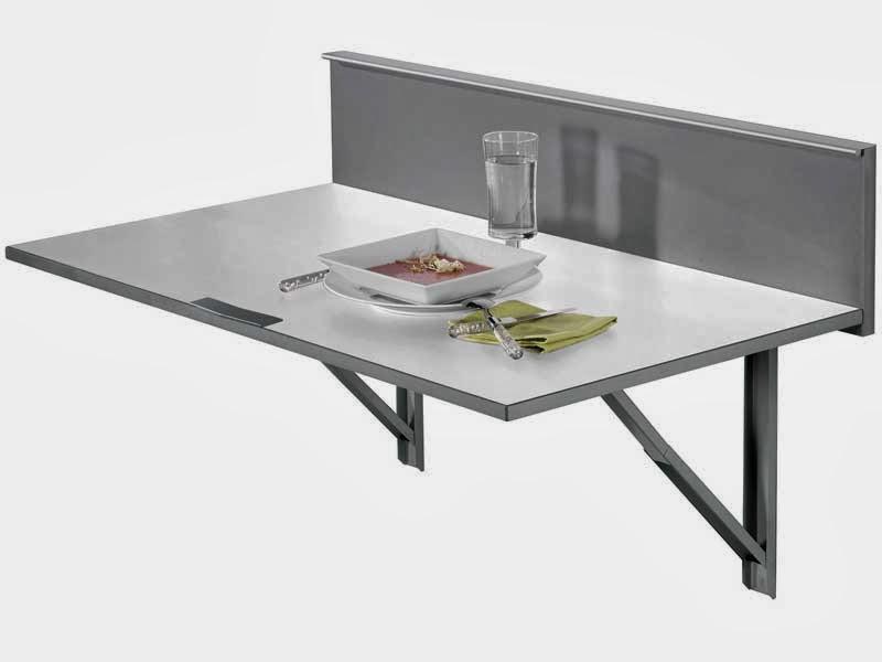 Un mundo en la cocina c mo hacer una mesa plegable - Cocinas pequenas con mesa ...