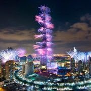 Dubai Firework Displays Gallery 2014
