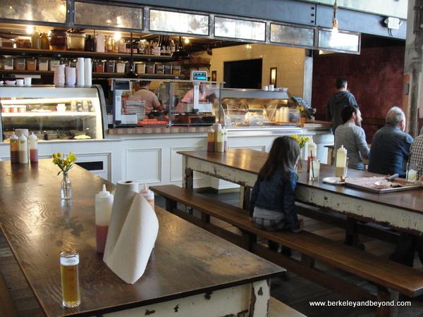 kitchen at Smokestack at Magnolia Brewing in San Francisco