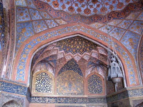 Thenextpicture beautiful pictures of interiors of the taj for Interior taj mahal
