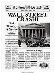 Crise de 1929 Wall Street