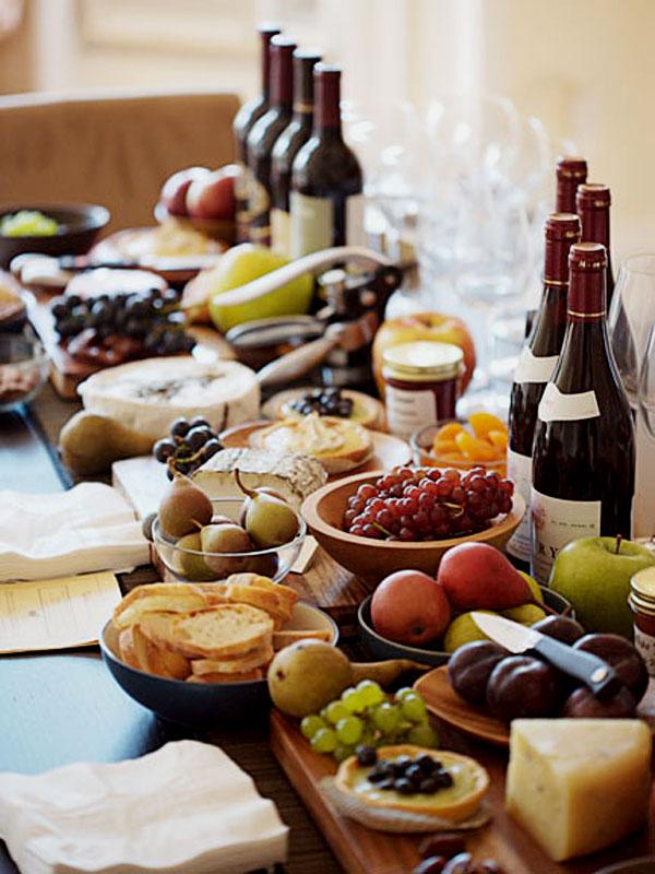 como preparar una tabla de quesos gourmet , acompañamientos