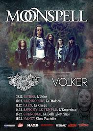 Moonspell em tournée