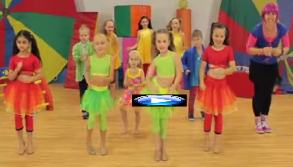 For Children. Let's Star Jump! - Dance Song! Debbie Doo & Friends!