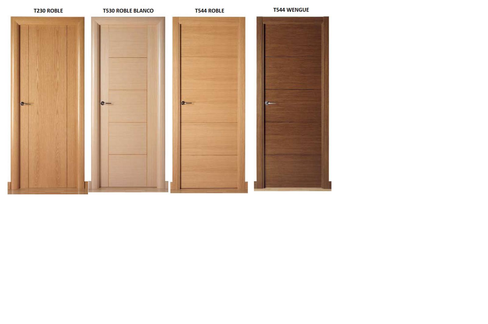 Puertas de interiores de madera excellent puertas de for Puertas de madera interiores