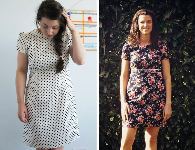 Megan dress - sewing pattern from Love at First Stitch