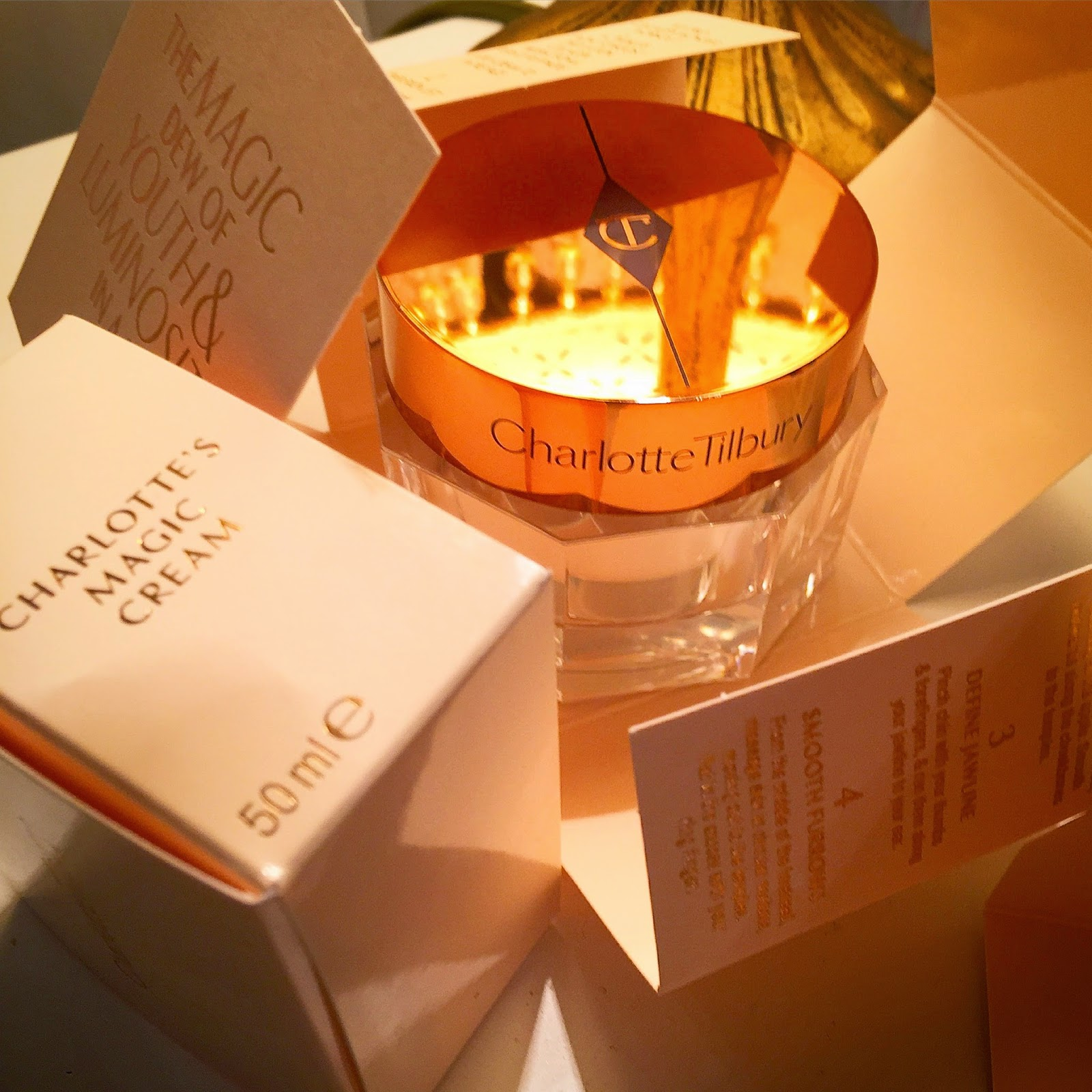 Review - Charlotte Tilbury Magic Cream - Caroline Hirons