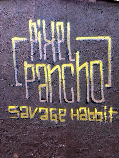 New Street Art Piece In Jersey City By Italian Street Artist Pixel Pancho. 3