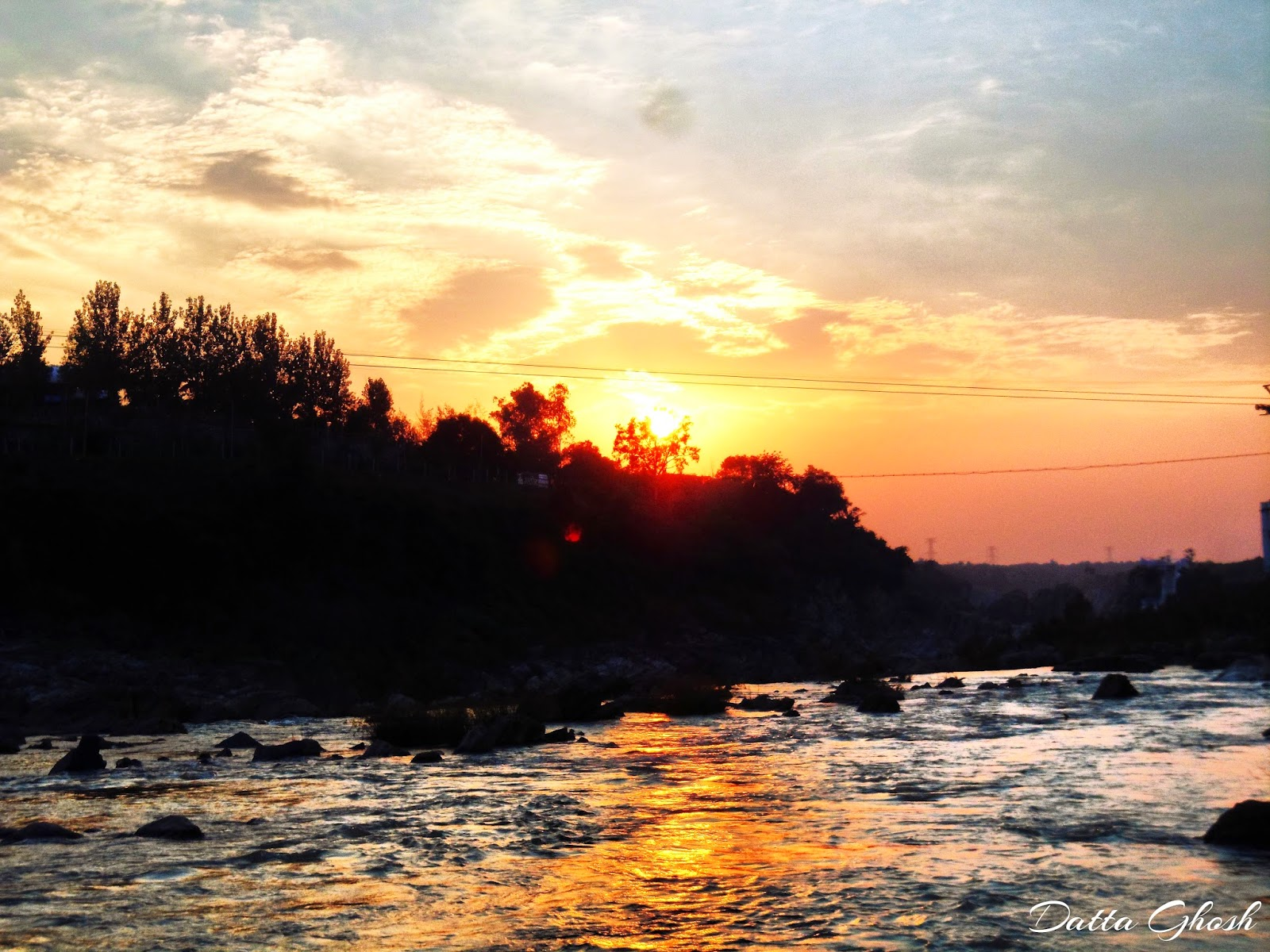 Sun Set Jabalpur