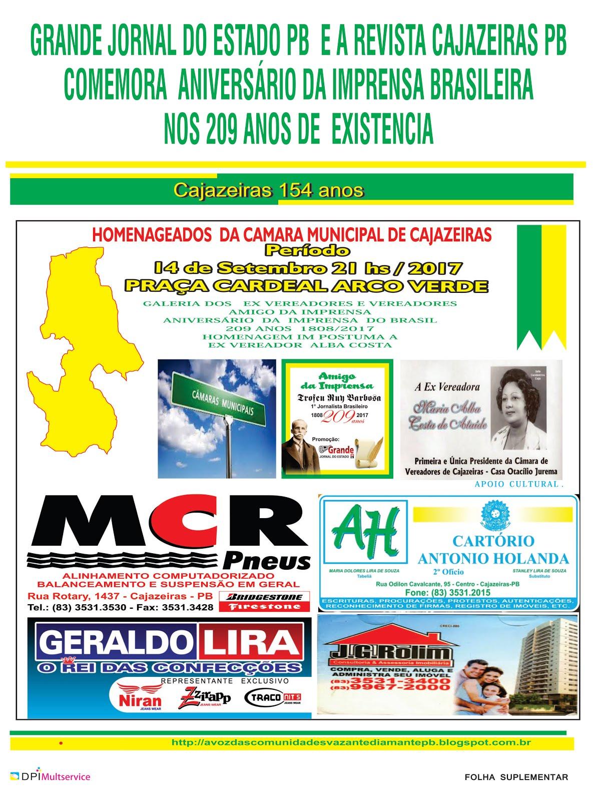 AGORA  SIM DIA  29 DE MAIO 2018  APENAS UMA RECEPÇÃO ESPECIAL  COM  O DISCURSO  SOBRE  A IMPRENSA