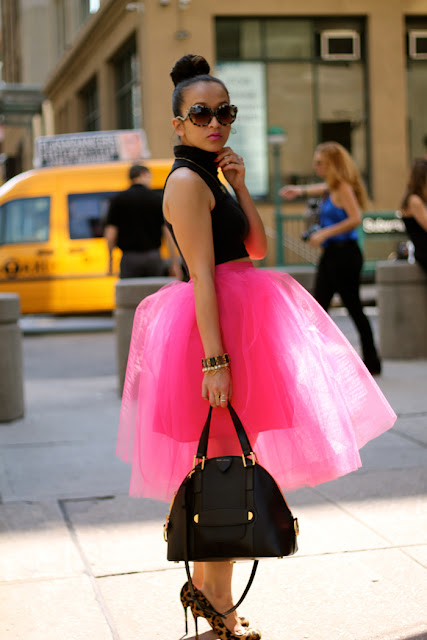 Tulle Skirt Inspiration on Darling Cashmere