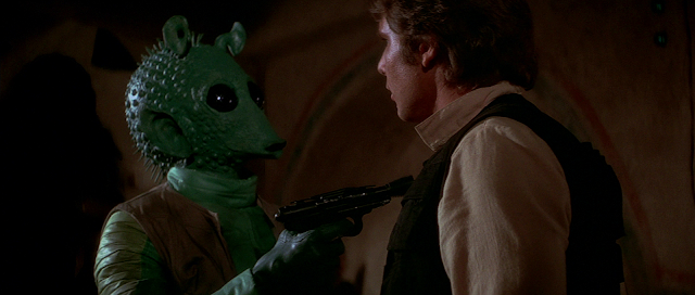 greedo accosts han solo
