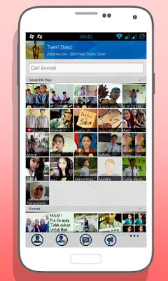 BBM Mod: Windows Style Theme Screenshot