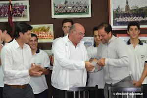 Entregaron los premios a los campeones intercolegiales de rugby